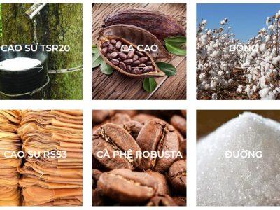 Nhóm nguyên liệu công nghiệp trong giao dịch hàng hóa phái sinh