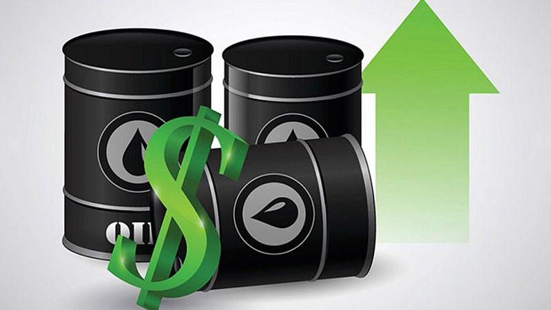 Nhu cầu tài sản rủi ro cải thiện khiến giá dầu tăng hơn 4%