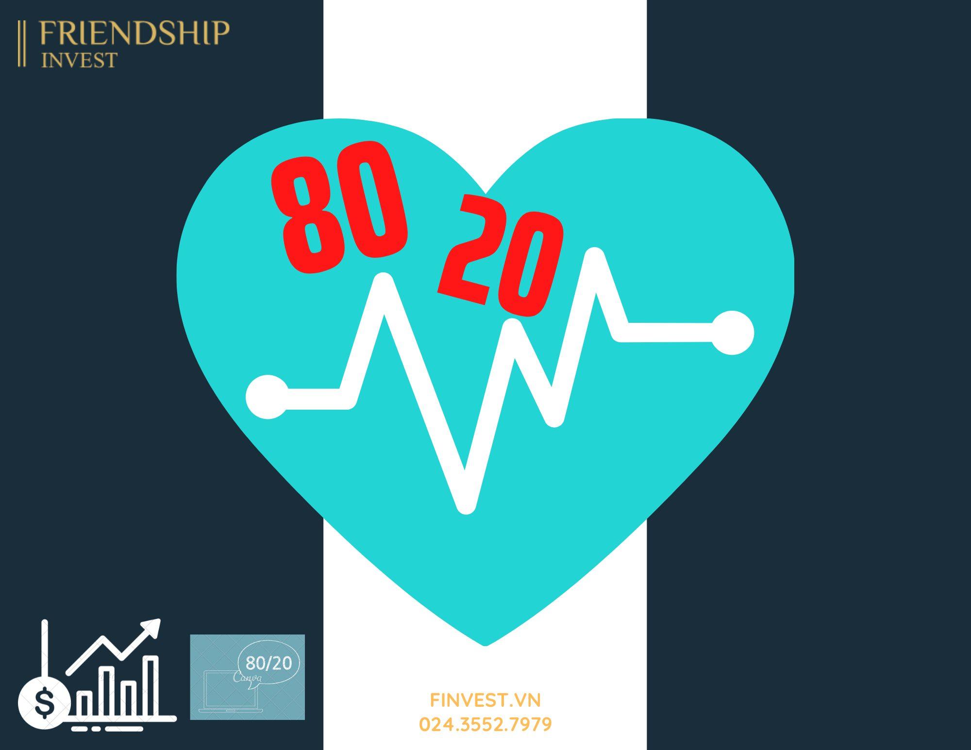 Nguyên lý 80/20 giúp tăng hiệu quả trong đầu tư