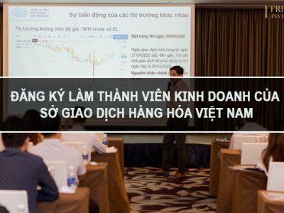 Hướng dẫn đăng ký làm thành viên kinh doanh của Sở Giao dịch Hàng hóa Việt Nam