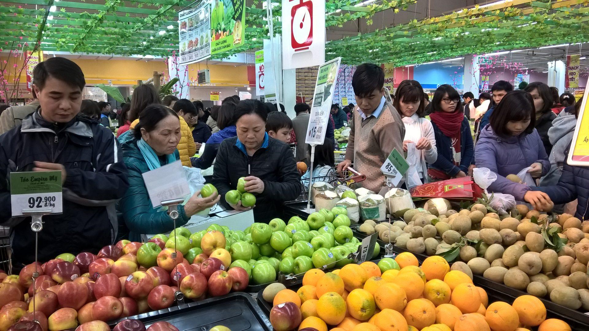 Thị trường hàng hóa tại Hà Nội
