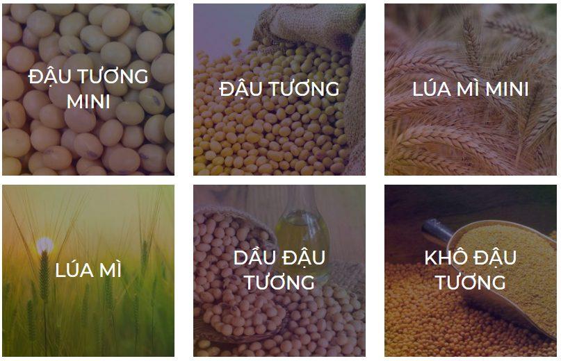 Nông sản giao dịch hàng hóa phái sinh