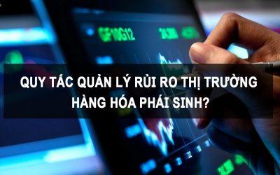 Quy tắc quản lý rủi ro thị trường hàng hóa phái sinh?