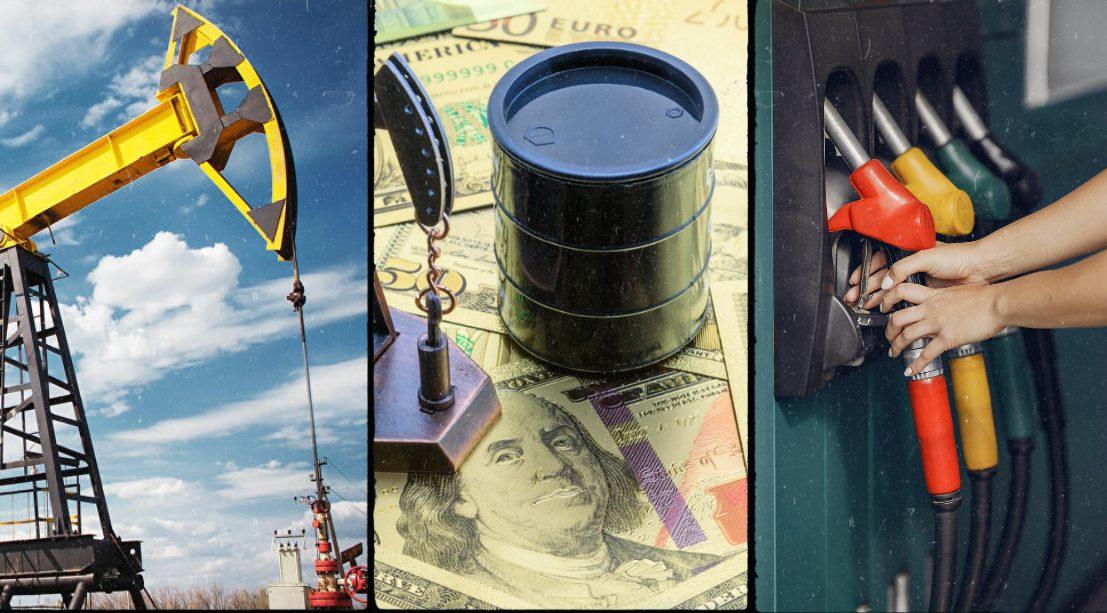 Khí tự nhiên - dầu thô - xăng RBOB
