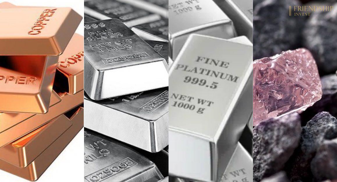 Phố Wall tăng điểm, kim loại quý trở nên kém hấp dẫn đối với nhà đầu tư