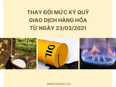 Mức ký quỹ giao dịch dầu thô WTI