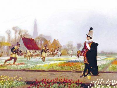 Khởi nguồn của giao dịch hàng hóa qua Sở: Bong bóng hoa tulip và bài học tâm lý đám đông
