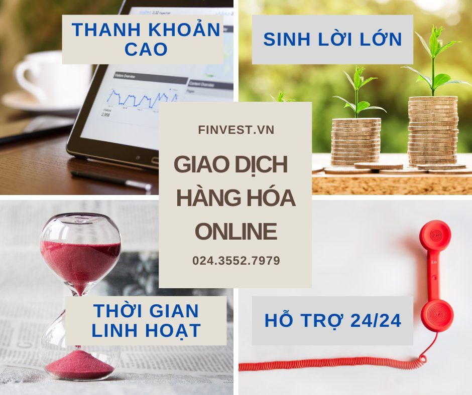 Giao dịch hàng hóa tại nhà online