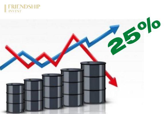 Thị trường dầu thô kết thúc quý I/2021 đầy biến động với mức tăng 25%