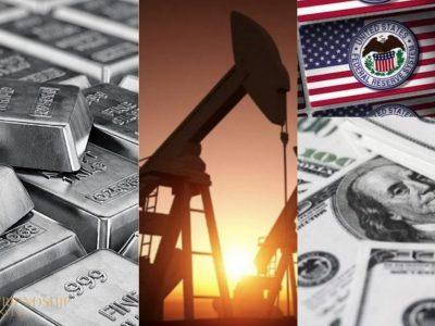 Phản ứng của thị trường dầu thô và kim loại quý khác nhau trước thông tin Fed chưa tăng lãi suất