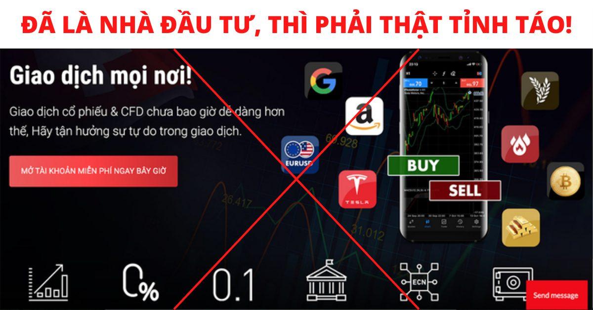 3 lí do nhà đầu tư đừng nên tin vào giao dịch tiền ảo lừa đảo