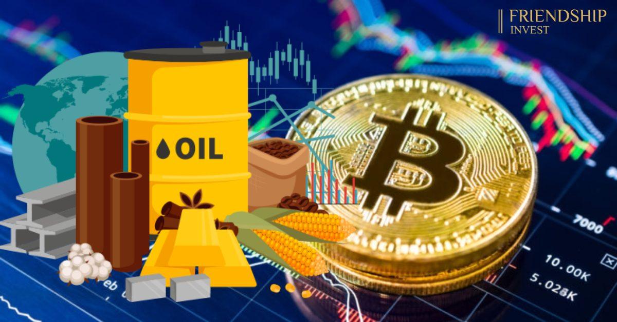 Hàng hóa vượt qua Bitcoin trở thành tài sản được nhiều nhà đầu tư theo đuổi nhất