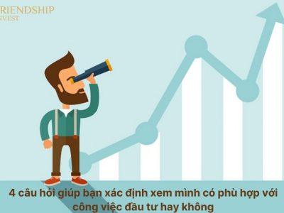 Bạn có phù hợp với công việc đầu tư hay không?