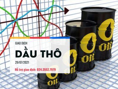 Giá dầu tiến sát đến 75 USD, triển vọng thị trường tích cực phớt lờ mối lo về biến thể Delta