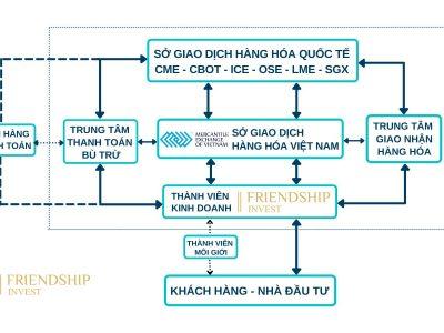 Mô hình tổ chức thị trường giao dịch hàng hóa Việt Nam