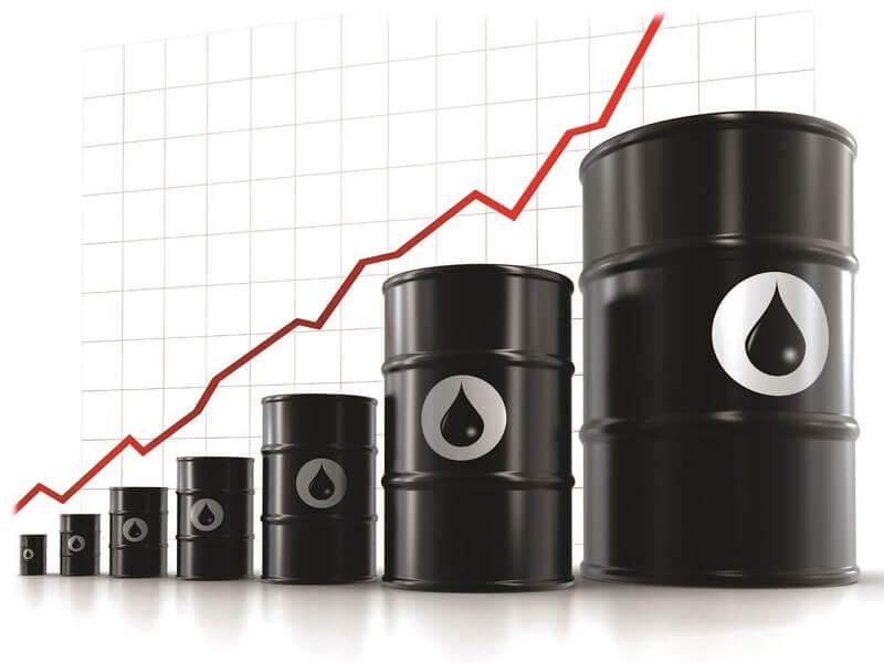 Giá dầu thô đã hồi phục 8% từ mức giảm mạnh nhất của tuần trước đó