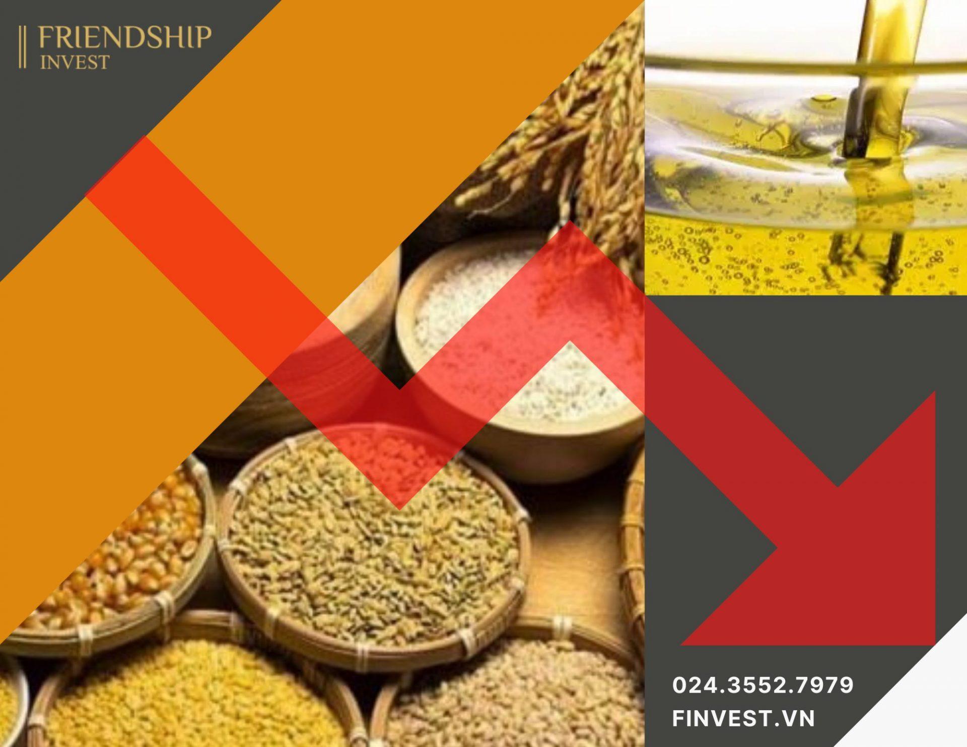 Thị trường nông sản đang phải đối mặt với nhiều áp lực